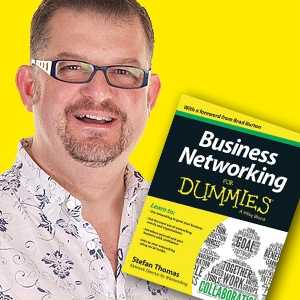 Stef Thomas, author of Business Networking for Dummies